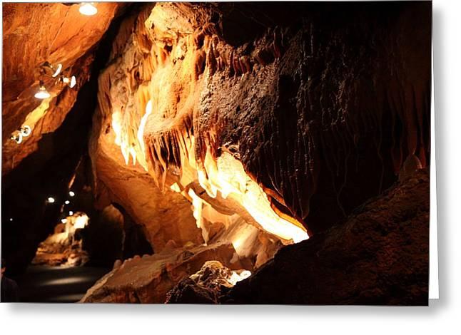 Shenandoah Greeting Cards - Shenandoah Caverns - 121219 Greeting Card by DC Photographer