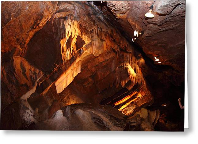 Shenandoah Caverns - 121222 Greeting Card by DC Photographer