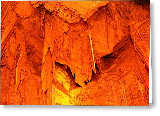 Caves Greeting Cards - Shenandoah Caverns - 121267 Greeting Card by DC Photographer