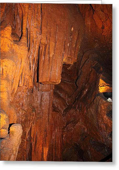 Cave Greeting Cards - Shenandoah Caverns - 121273 Greeting Card by DC Photographer