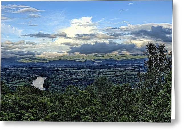 Shenandoah Valley Greeting Cards - Shenandoah Gentle May Greeting Card by Lara Ellis