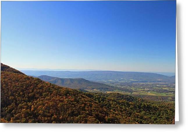 Shenandoah Valley Greeting Cards - Shenandoah National Park Greeting Card by Dan Sproul