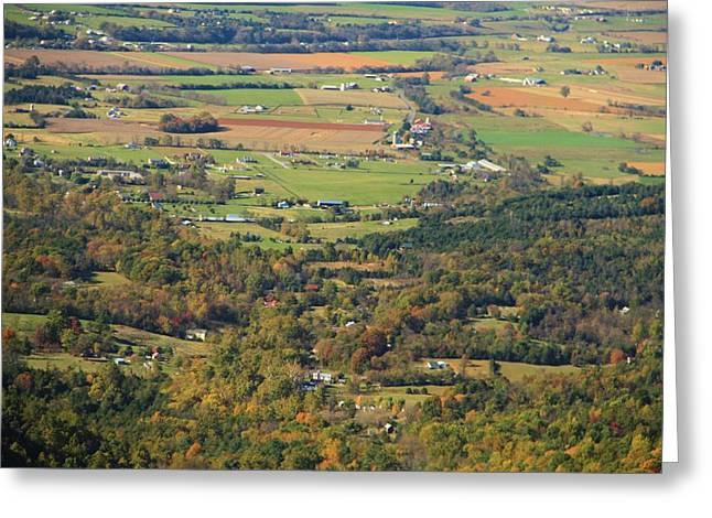 Shenandoah Valley Greeting Cards - Shenandoah Valley Greeting Card by Dan Sproul