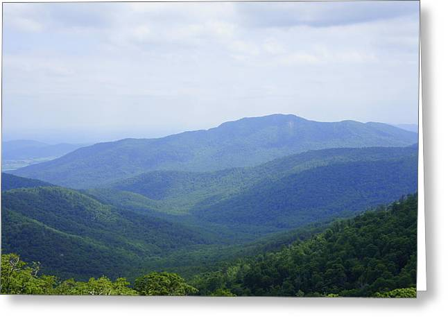 Laurie Perry Greeting Cards - Shenandoah View Greeting Card by Laurie Perry
