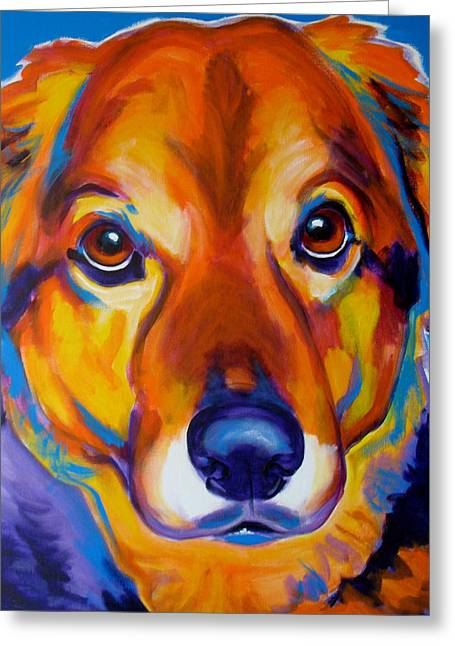 Alicia Vannoy Call Greeting Cards - Shepherd Mix - Riley Greeting Card by Alicia VanNoy Call