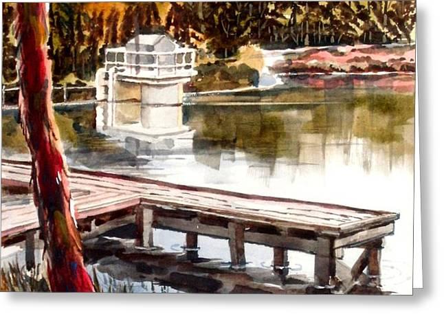 Shepherd Mountain Lake Bright Greeting Card by Kip DeVore
