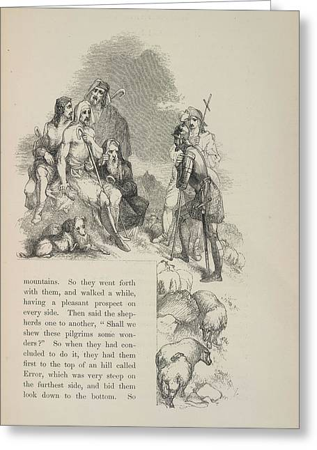 Shepherds Greeting Card by British Library