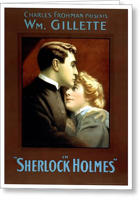 Sherlock Holmes Greeting Card by Terry Reynoldson