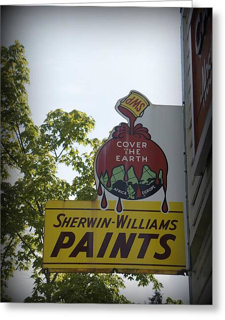 Laurie Perry Greeting Cards - Sherwin Williams Greeting Card by Laurie Perry