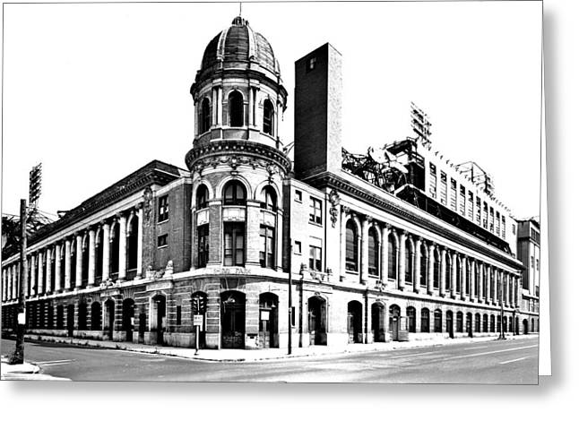 Shibe Park Greeting Cards - Shibe Park Greeting Card by Benjamin Yeager