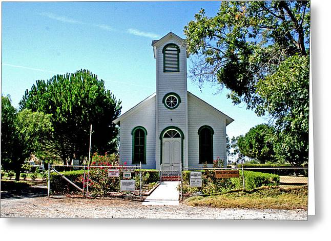 1876 Digital Greeting Cards - Shiloh Church Greeting Card by Joseph Coulombe