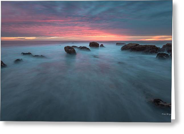 Cambria Greeting Cards - Shimmer-Cambria Greeting Card by Tim Bryan