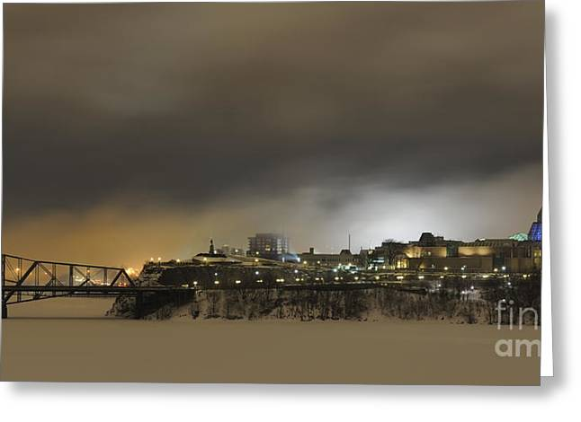 Ottawa Greeting Cards - Shimmer of Pearl.. Greeting Card by Nina Stavlund