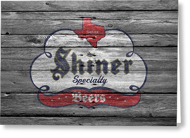Specialty Greeting Cards - Shiner Specialty Greeting Card by Joe Hamilton