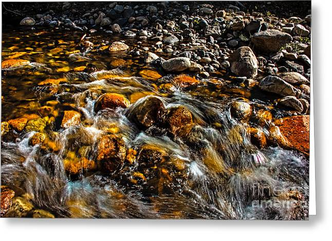 Picturesqueness Greeting Cards - Shining Rocks Greeting Card by Robert Bales