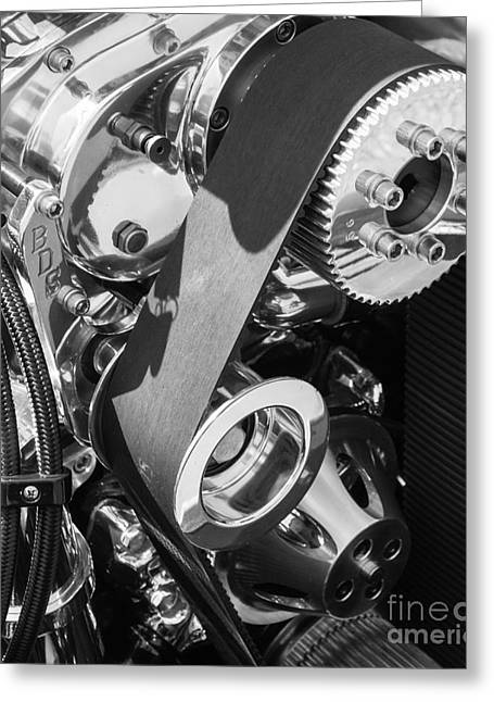 Shiny Gears 2 Greeting Card by Bob Zuber