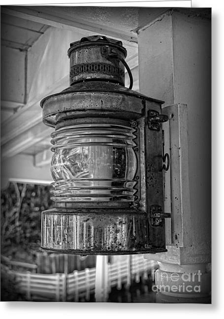 Fashion Pictures For Sale Greeting Cards - Ship Lamp Greeting Card by Lee Dos Santos