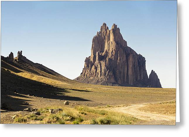 Nations Greeting Cards - Shiprock 3 - North West New Mexico Greeting Card by Brian Harig
