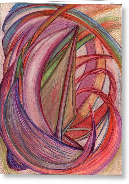 Popular Drawings Greeting Cards - Ships Greeting Card by Kelly K H B