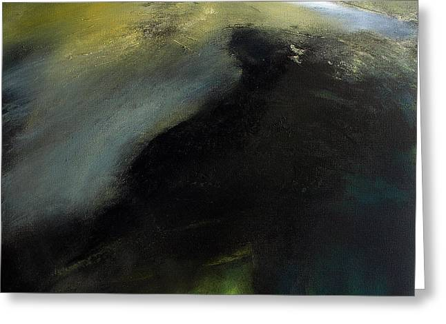 Tor Paintings Greeting Cards - Shivering Mountain Greeting Card by Neil McBride