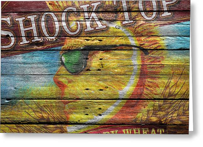 Saloons Greeting Cards - Shock Top Greeting Card by Joe Hamilton
