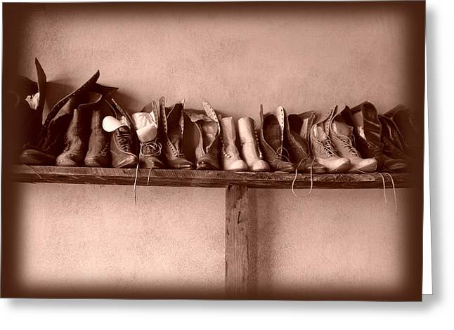 Daysray Photography Greeting Cards - Shoes Greeting Card by Fran Riley