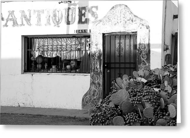Las Cruces Photograph Greeting Cards - Shoppin Las Cruces Greeting Card by Jim Snyder