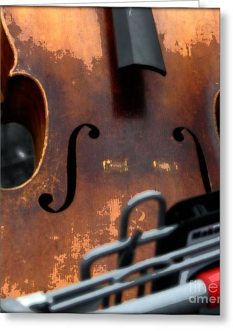 Shopping Cart Greeting Cards - Shopping for Sound Greeting Card by Steven  Digman