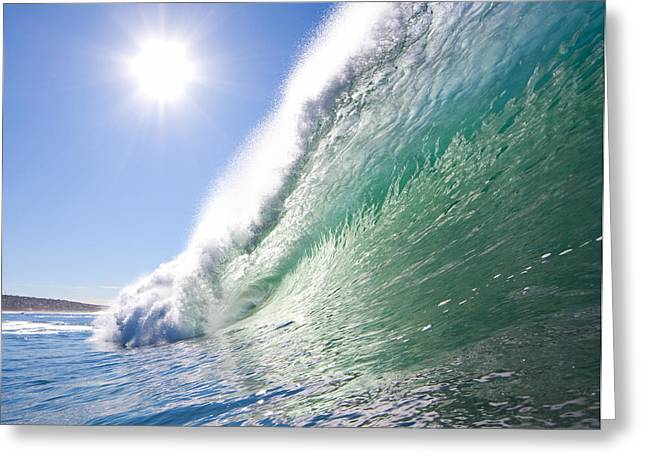 Shorebreak Greeting Cards - Shorebreak Greeting Card by James Roemmling