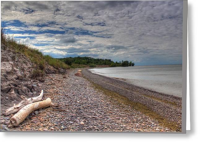 Hamlin Lake Greeting Cards - Shoreline Lake Ontario Greeting Card by Tim Buisman