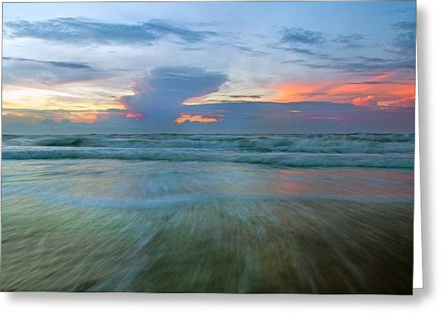 Provoke Greeting Cards - Shoreline Watch Greeting Card by Betsy C  Knapp