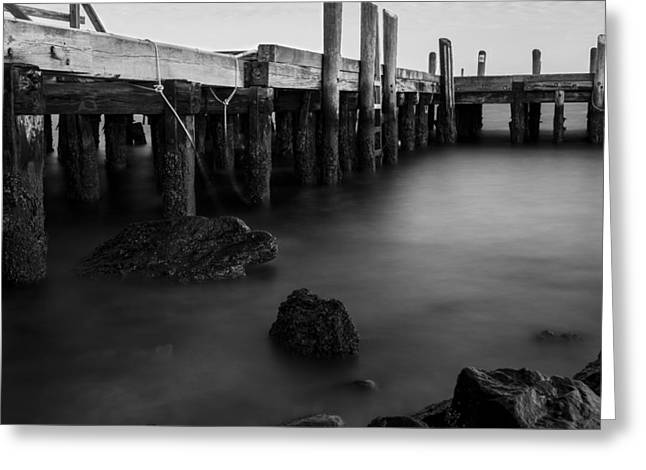 Getty Greeting Cards - Shores of Jamestown Greeting Card by Andrew Pacheco
