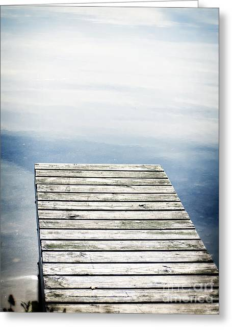 Boardwalk Greeting Cards - Short Pier Greeting Card by Edward Fielding