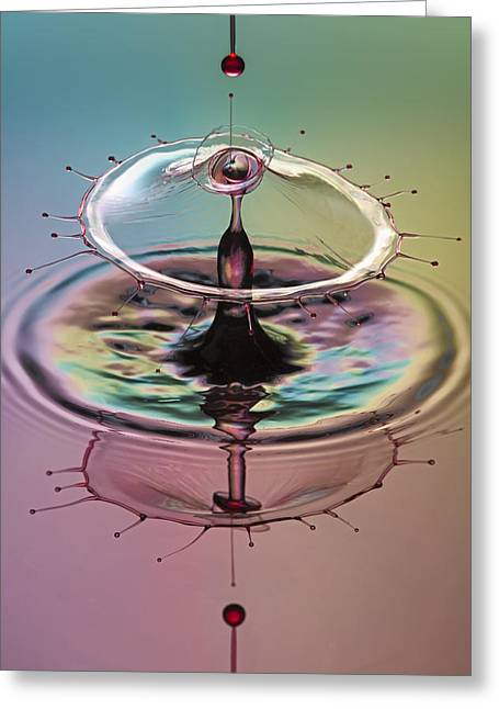 Hydration Greeting Cards - Shot Thru The Heart Greeting Card by Susan Candelario