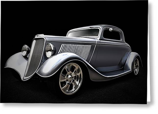 Custom Automobile Greeting Cards - Shovel Ready Greeting Card by Douglas Pittman