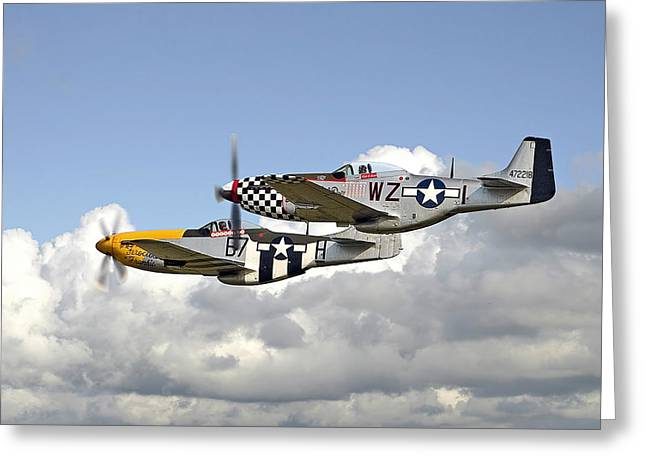 Aviation Display Greeting Cards - Show Time Greeting Card by Pat Speirs