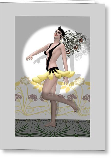 Showgirl  Greeting Card by Quim Abella