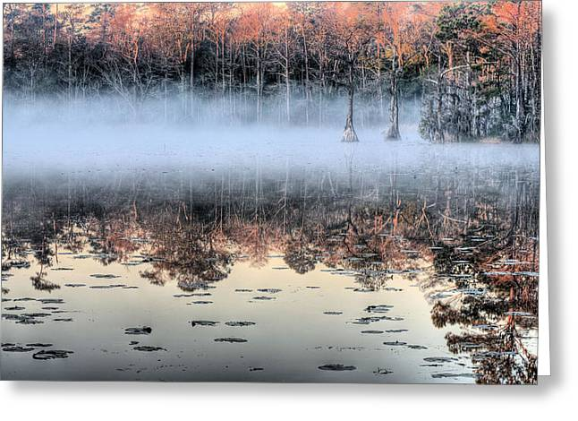 Haze Photographs Greeting Cards - Shrouded  Greeting Card by JC Findley
