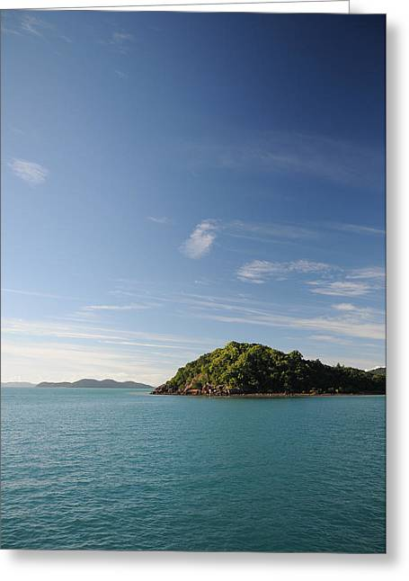 Whitsunday Greeting Cards - Shute Harbour Greeting Card by Colourscape Photography