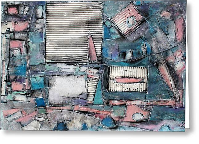 Shudder Greeting Cards - Shuttered Windows Greeting Card by Hari Thomas