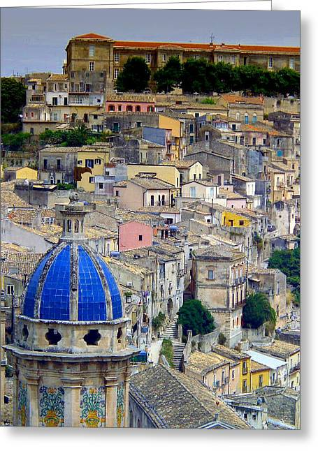 Sicily Greeting Cards - Sicily Greeting Card by Sorin Ghencea