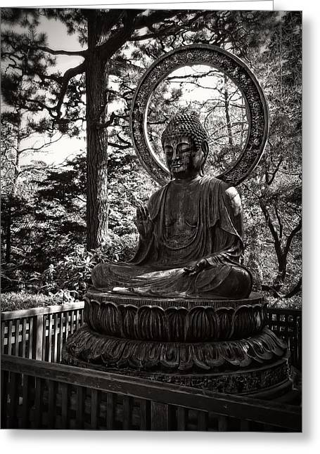 Yang Greeting Cards - Siddhartha Gautama Buddha Greeting Card by Daniel Hagerman