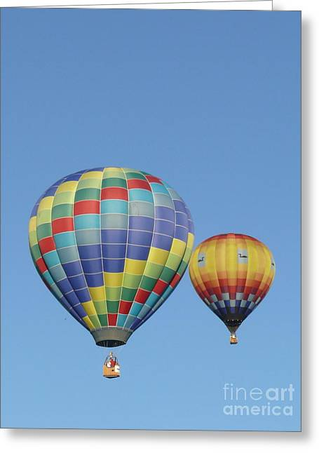 Helium Greeting Cards - Closing in Greeting Card by Brenda Ketch