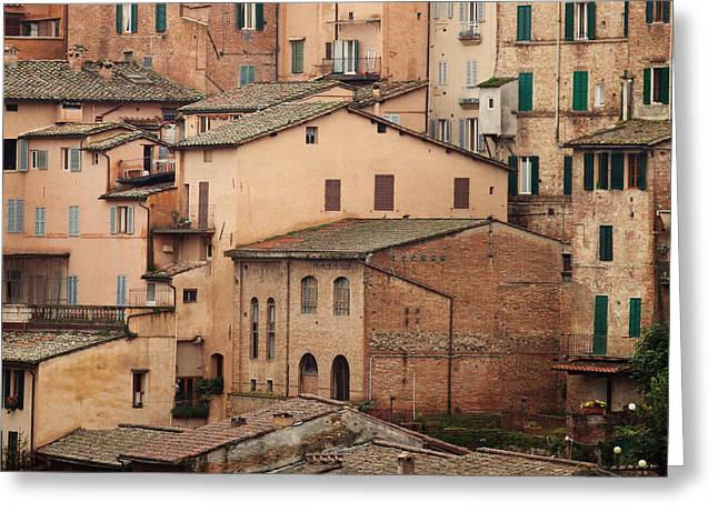 Siena Italy Greeting Cards - Siena Italy Greeting Card by Kim Fearheiley