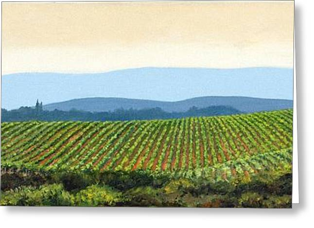 Sienna Hills Greeting Card by Michael Swanson