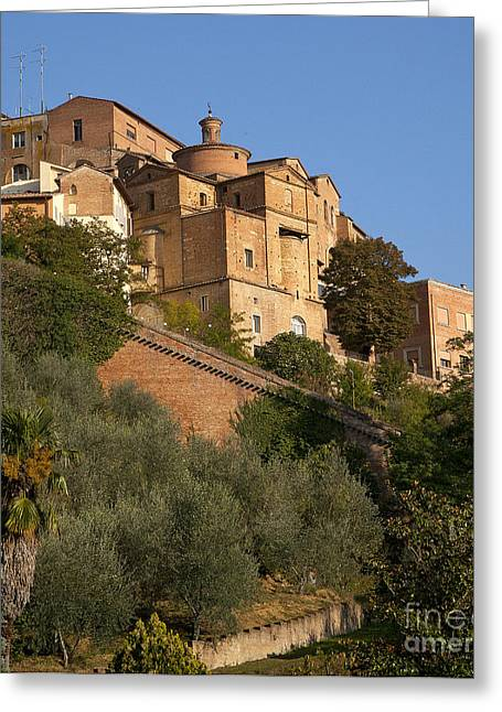 Sienna Italy Greeting Cards - Sienna Greeting Card by Robert Talbot