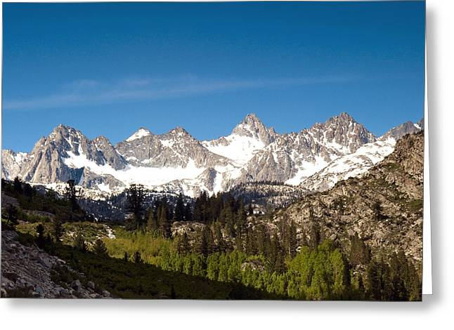 Bishop Greeting Cards - Sierra Glory Greeting Card by Aron Kearney Fine Art Photography