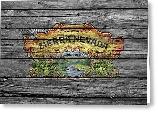 Saloons Greeting Cards - Sierra Nevada Greeting Card by Joe Hamilton