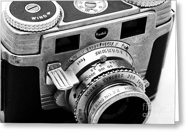 Rangefinder Greeting Cards - Signet 35 Greeting Card by John Rizzuto