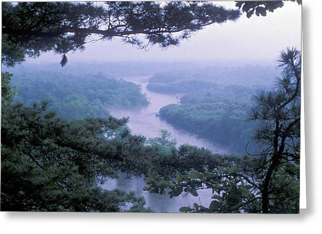 Far Above Greeting Cards - Sikhote Alin The Bikin River Greeting Card by Anonymous